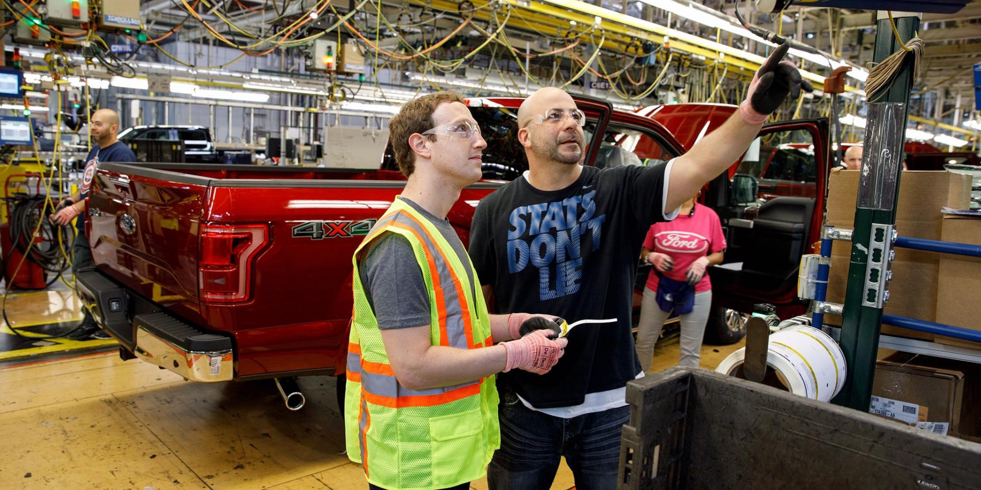 網路泡沫再現?臉書創辦人到FORD生產線當組裝工人