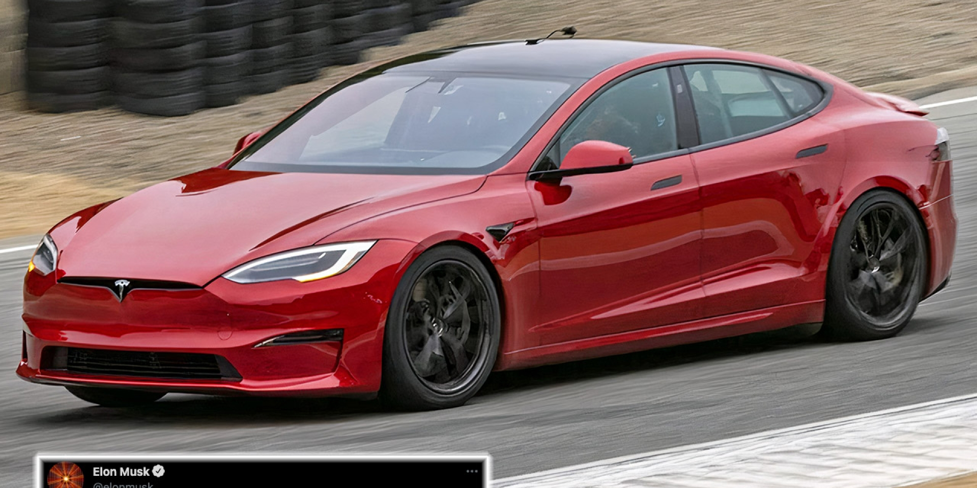 Tesla Model S Plaid加速成績確定!0-400m只需要9.23秒!