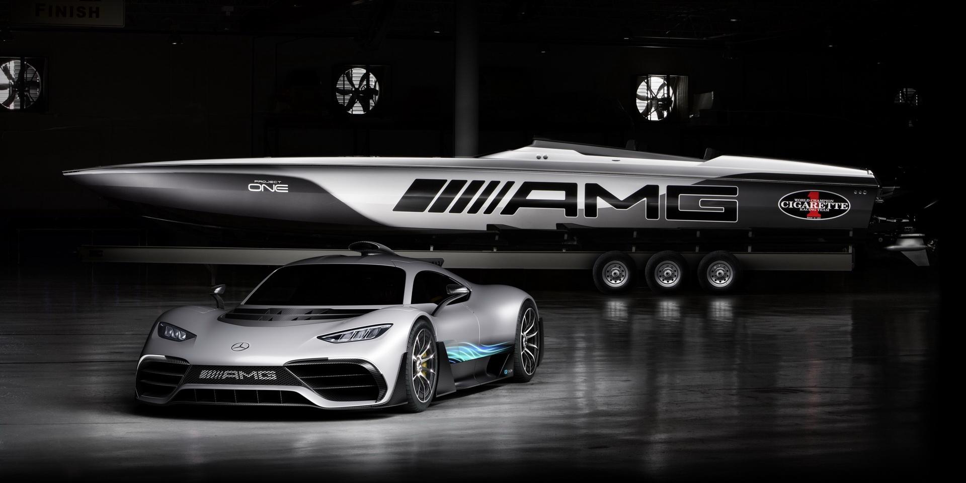 源自Mercedes-AMG Project One的靈感,擁有3,100hp的Cigarette Racing 515遊艇