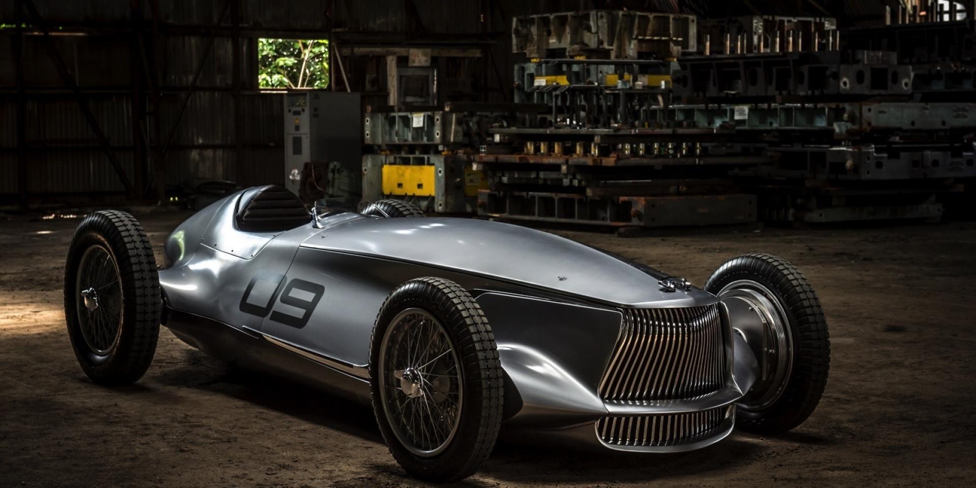 INFINITI 發表最新電動原型車Prototype 9。是的,最新。