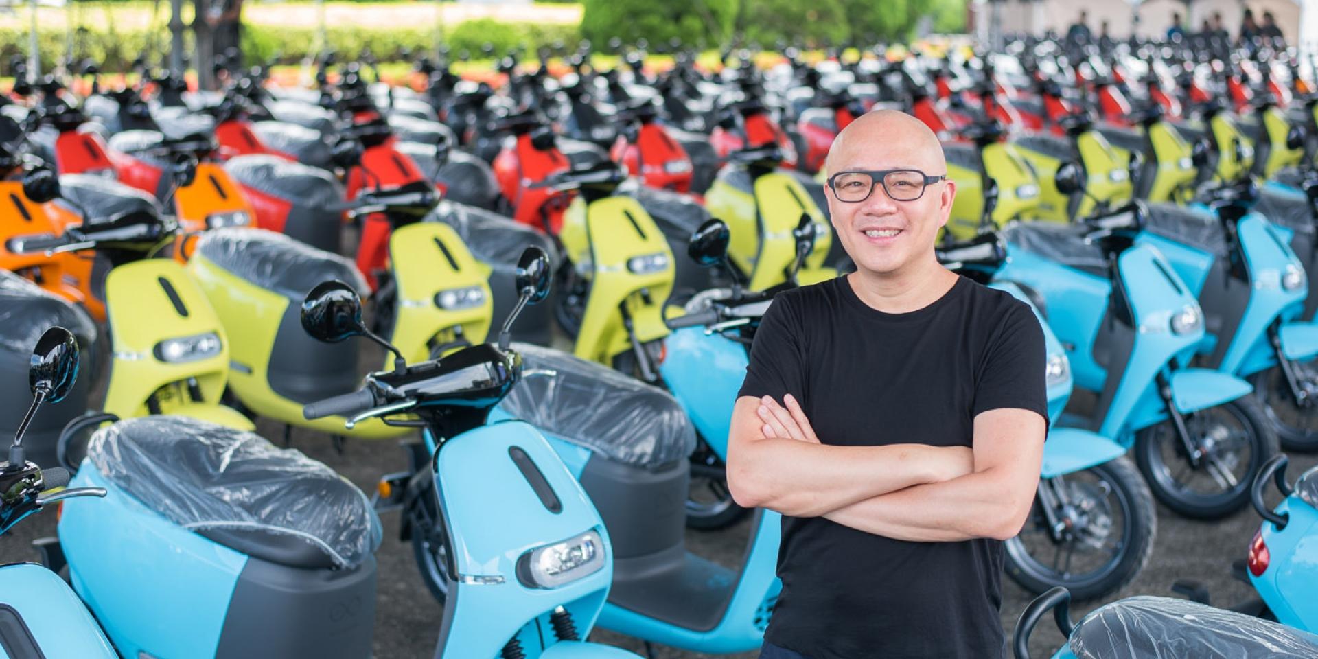 官方新聞稿。電動車領導品牌Gogoro 七月掛牌數突破4,000台電池交換達500萬次