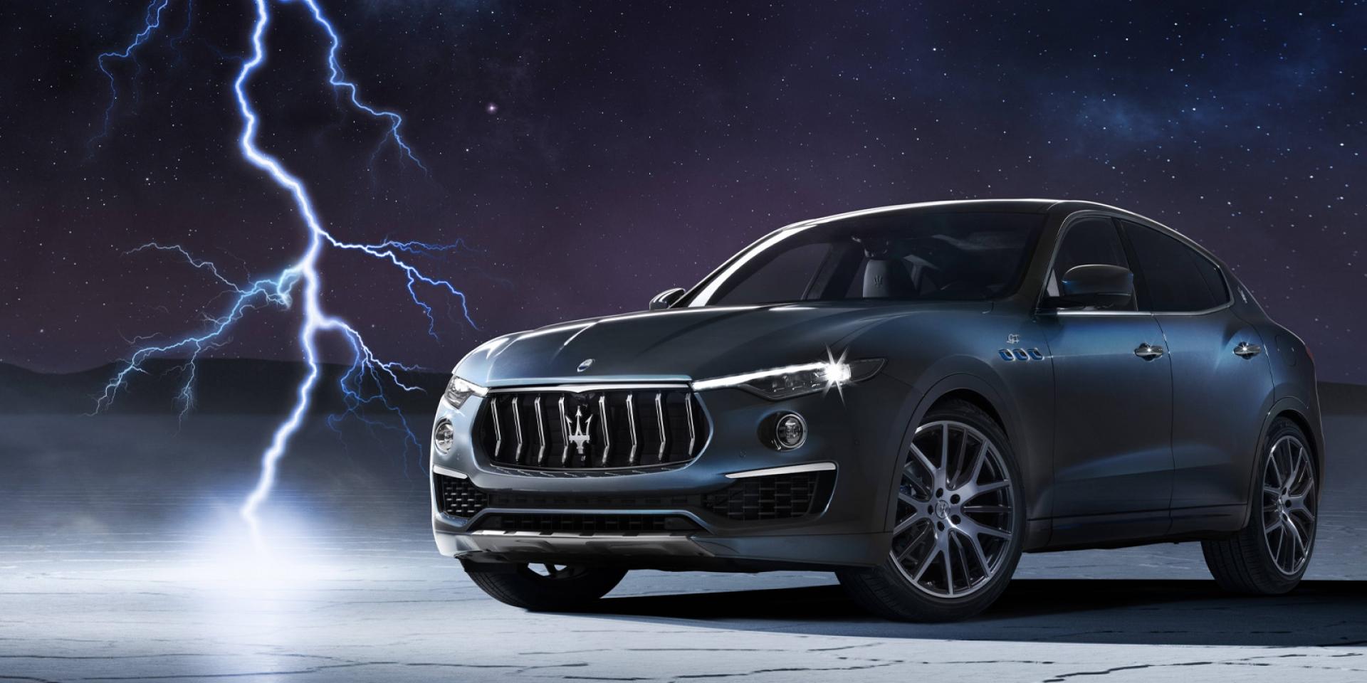官方新聞稿。Maserati the new Levante 2.0 全球首演正式亮相 !