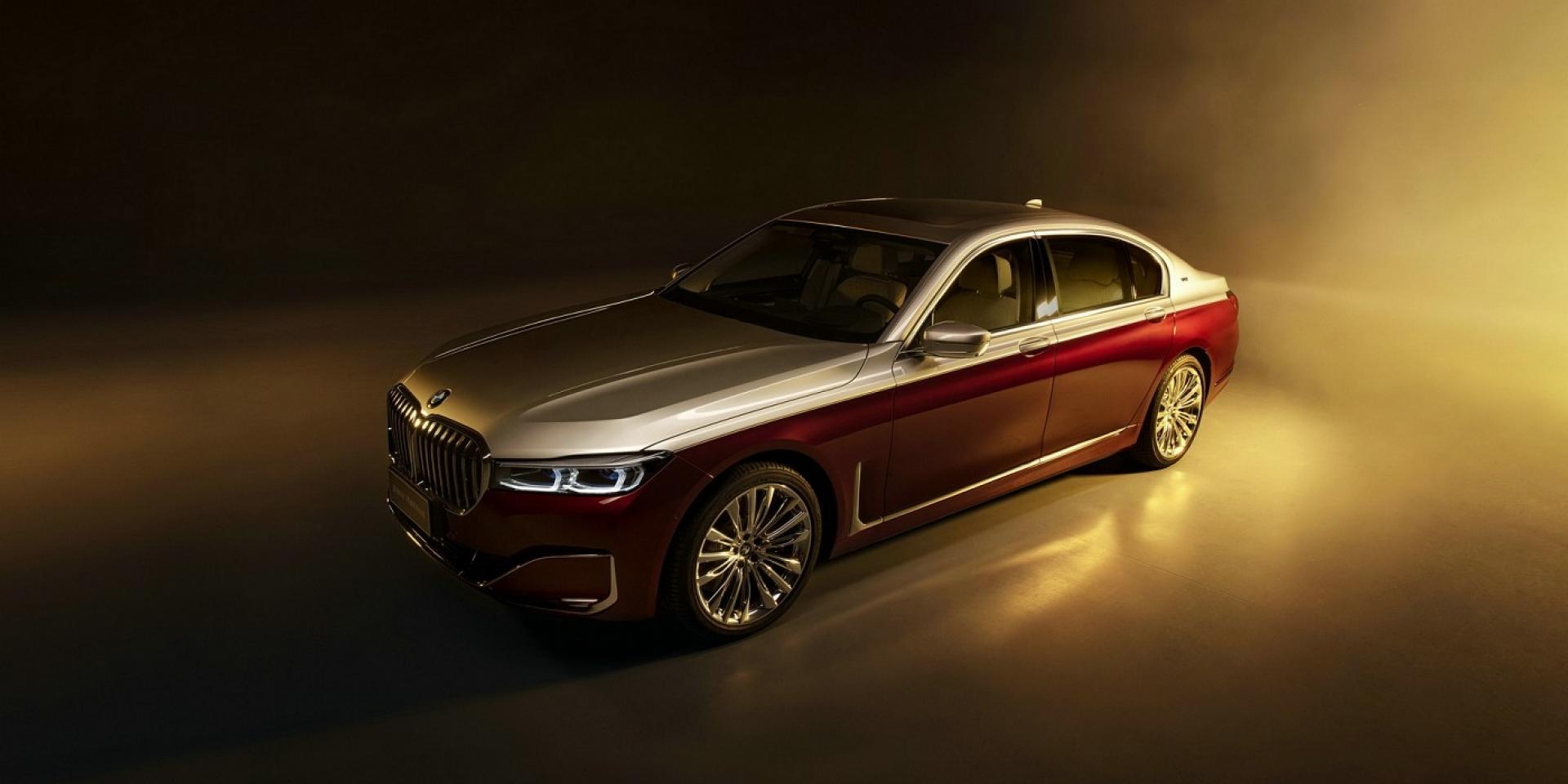 中國限定Maybach塗裝BMW 760Li,限量25台