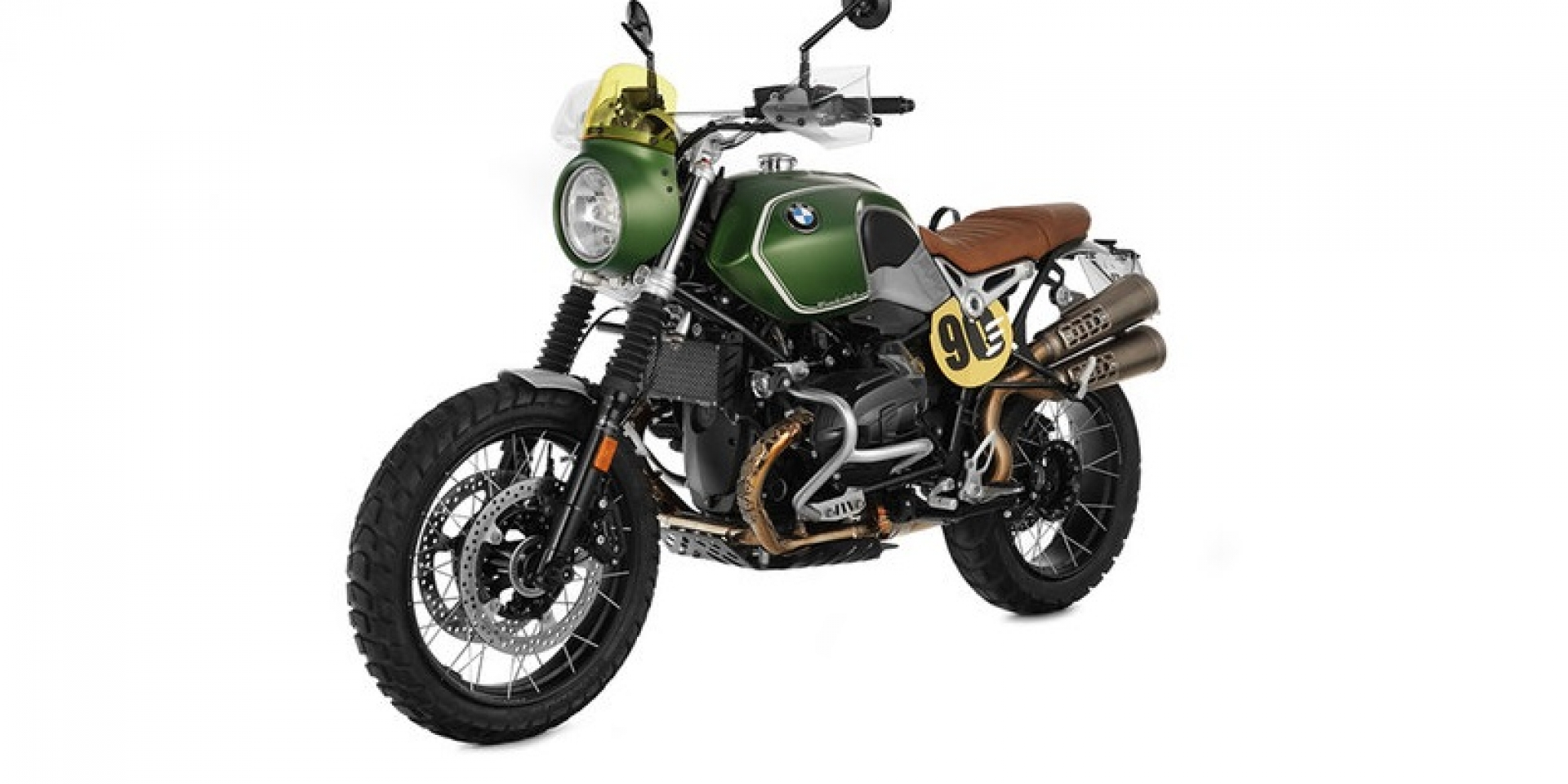 "風格至上。BMW R nineT Scrambler ""Green Hell"" by WUNDERLICH"