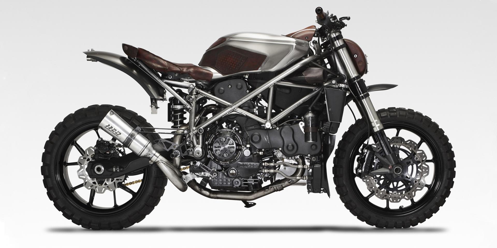質感外表下的性能猛獸 。Ducati 749  Arriera by oneyedeer