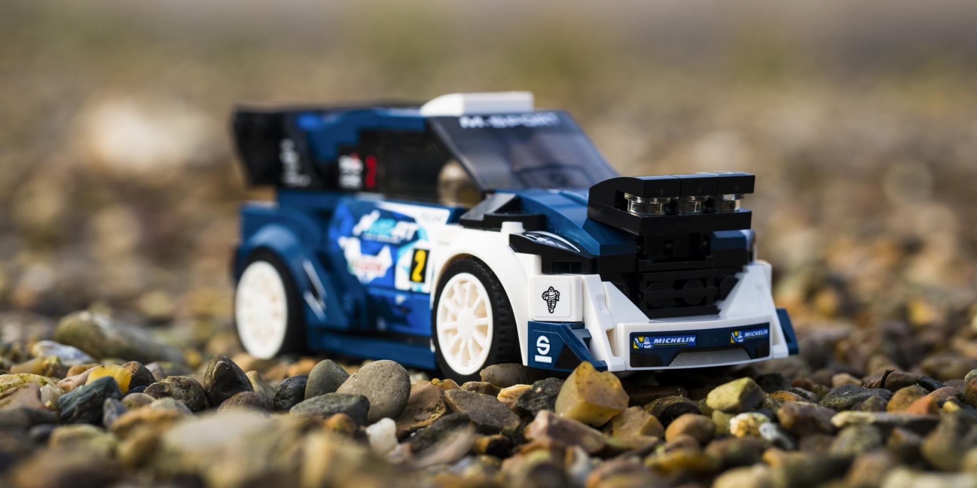 人人都負擔得起的Ford Fiesta WRC,樂高再次搶占車迷荷包!