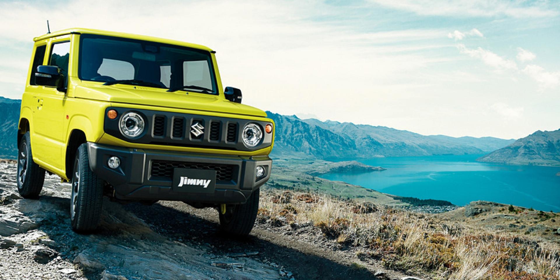 眾所期待的平民越野,Suzuki Jimny日本正式發表!