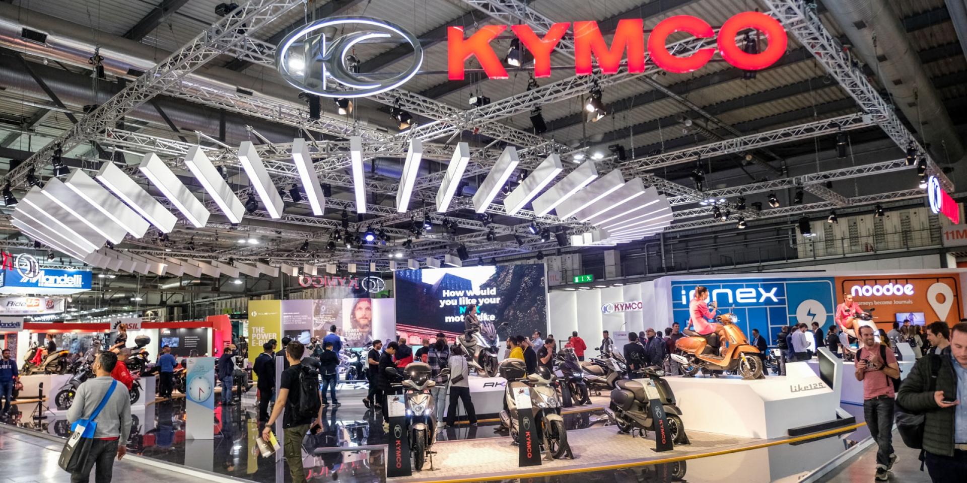 疫情影響,KYMCO宣布不參加2020米蘭車展!