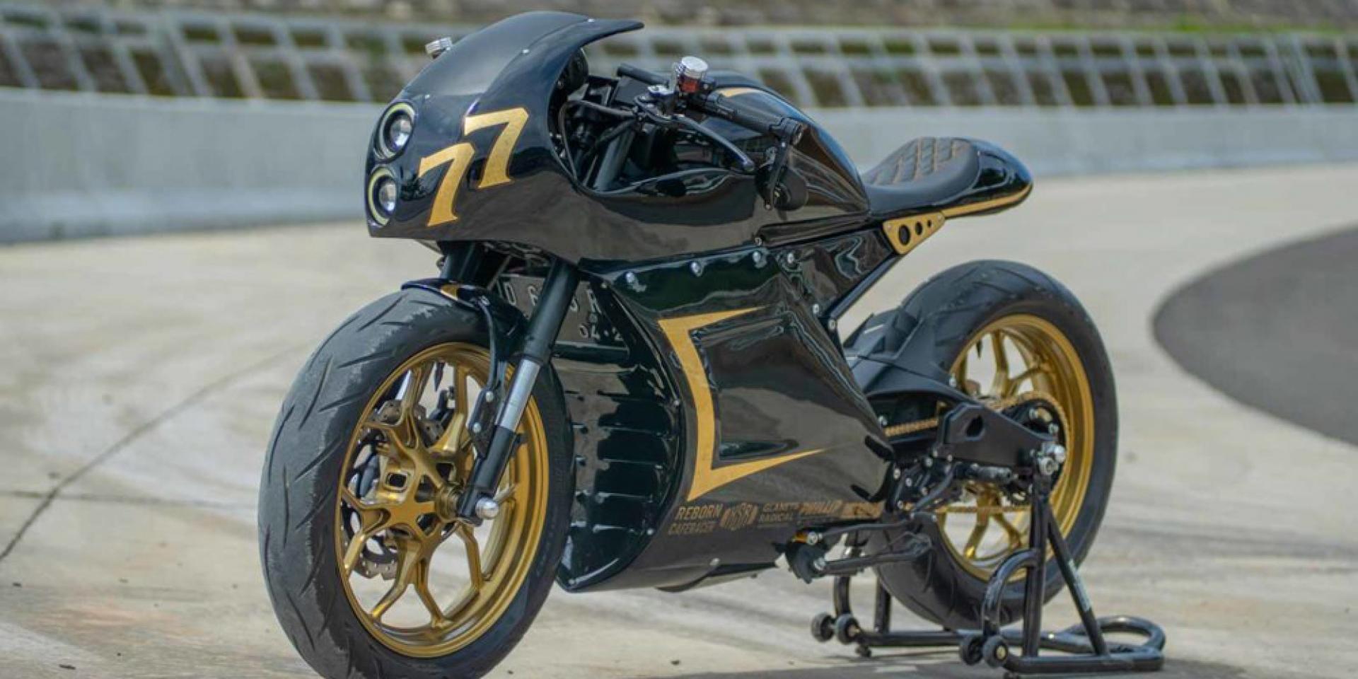 咖啡,重生!YAMAHA XSR155「Café Racer Reborn」by.Glanets Radical customs