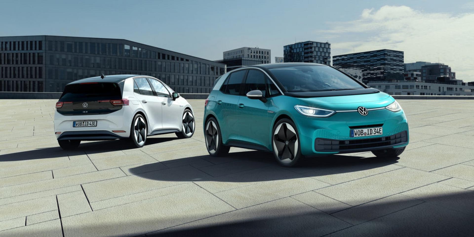 最高續航力550公里,VW旗下首款純電車,VW ID.3法蘭克福車展發表