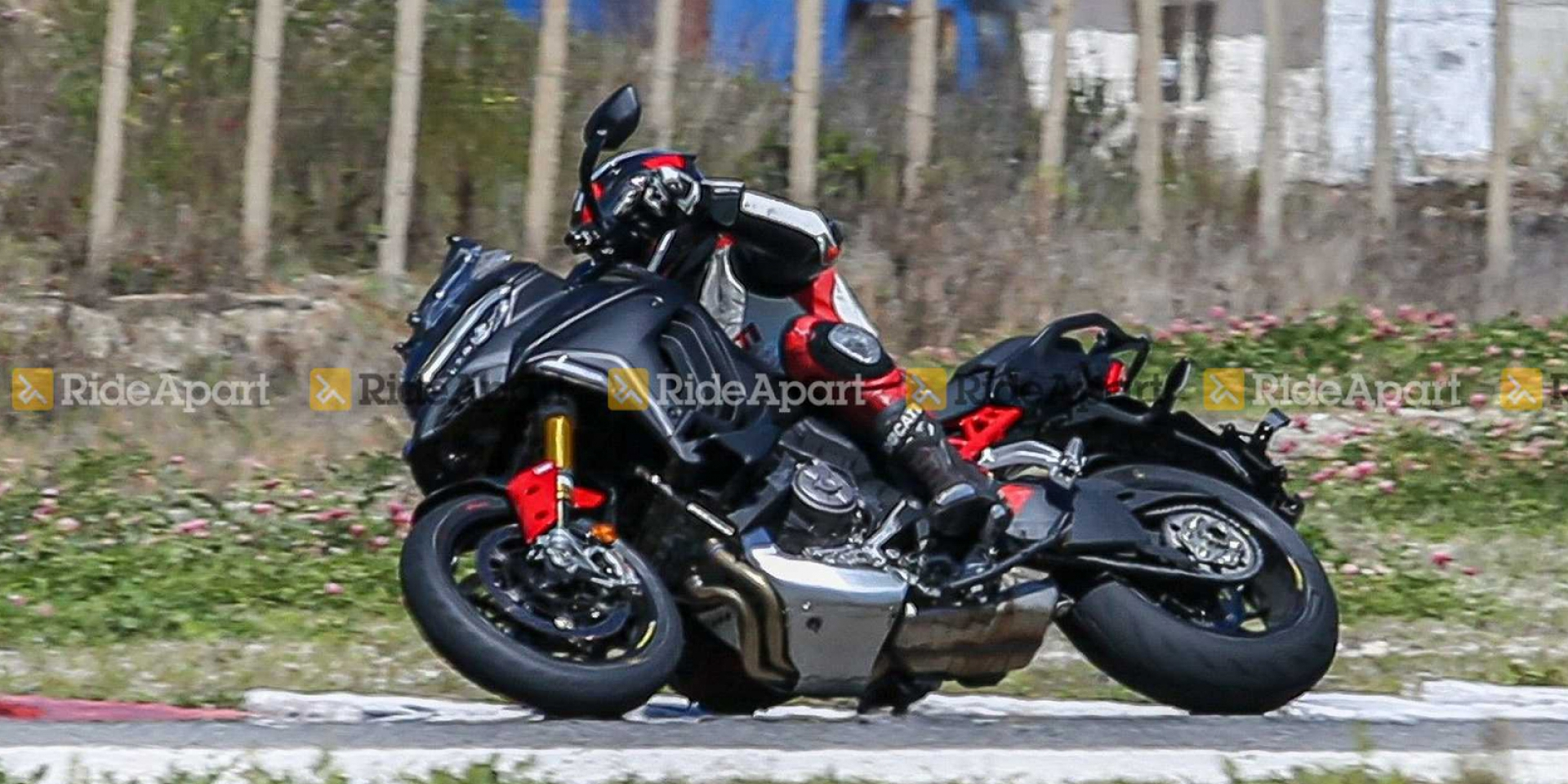 山路彎道殺手!Ducati Multistrada V4 Pikes Peak 賽道間諜照曝光
