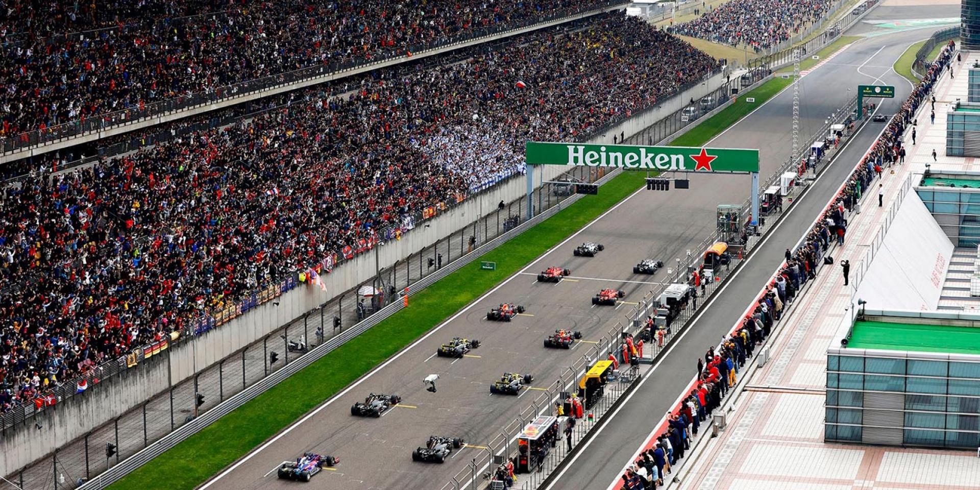 肺炎疫情影響,2020 F1上海站宣布延期!