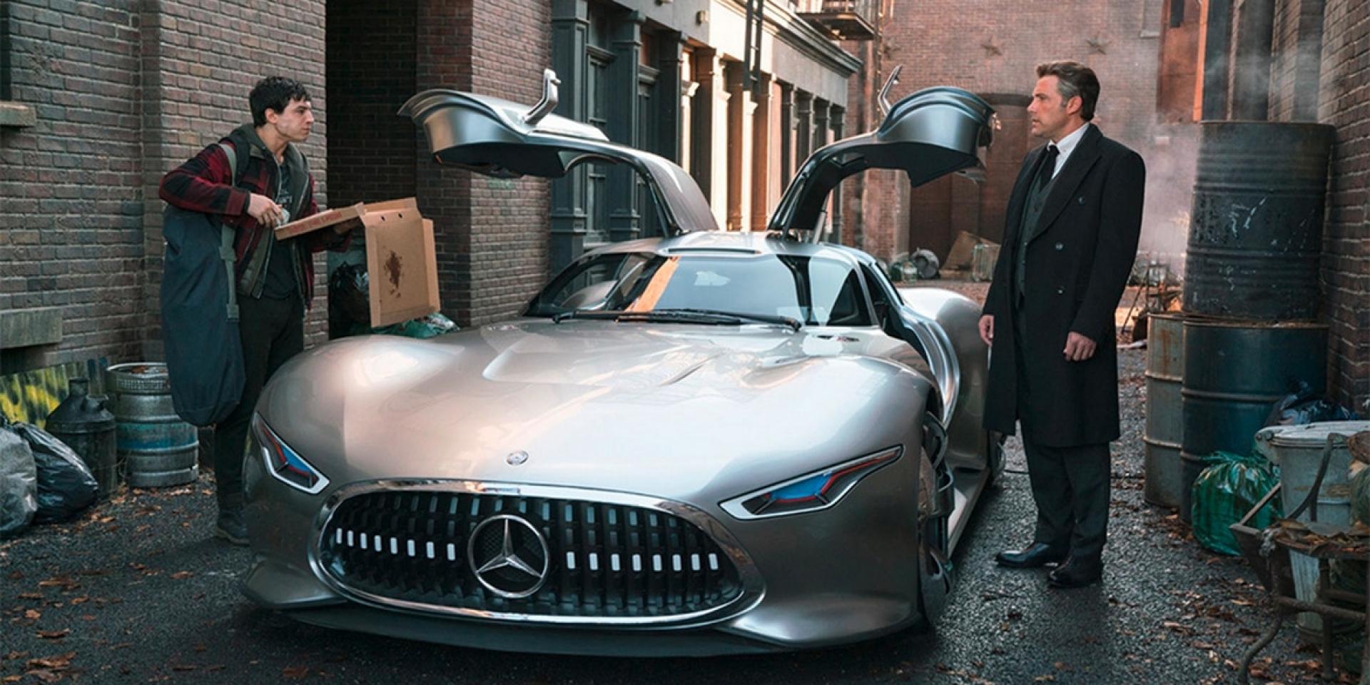 蝙蝠俠的日常坐駕。AMG Vision Gran Turismo