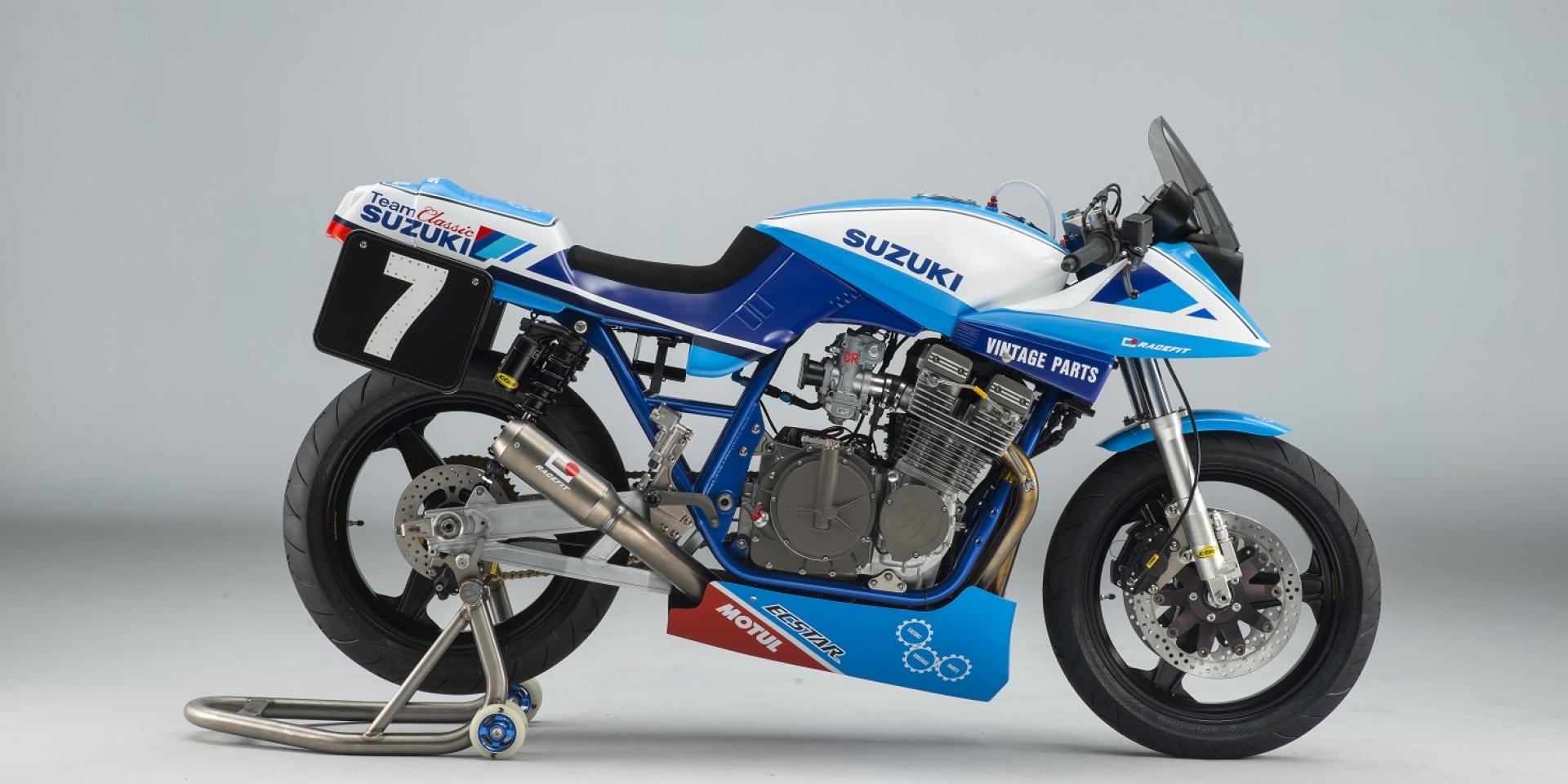 經典對決。SUZUKI GSX1100 KATANA 迎戰英國耐久賽