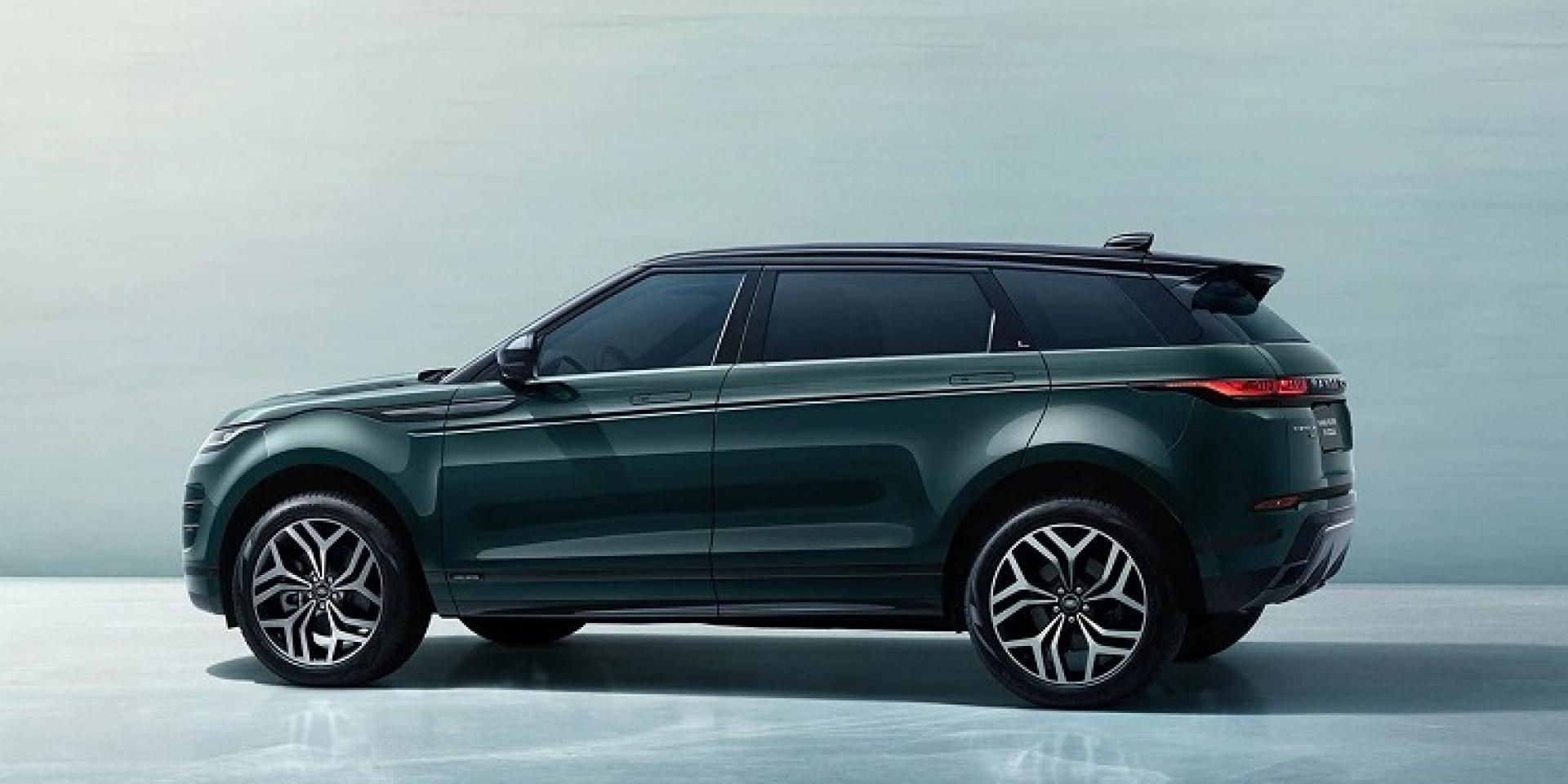 Land Rover推出Evoque L長軸車型,專為中國市場所開發