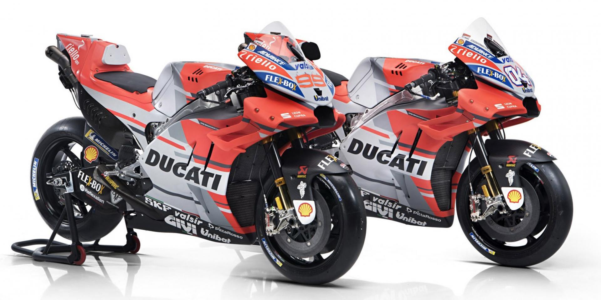 贊助商的角力,Ducati GP18新彩繪下的秘密