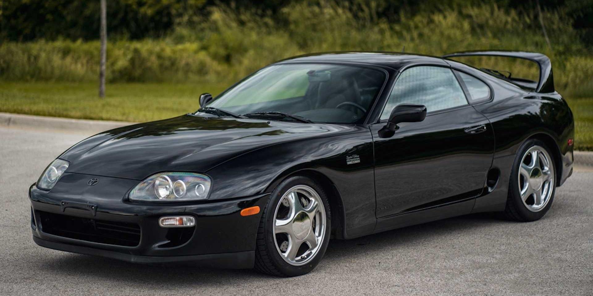新舊牛魔王你選誰?1997 Toyota Supra要價550萬!