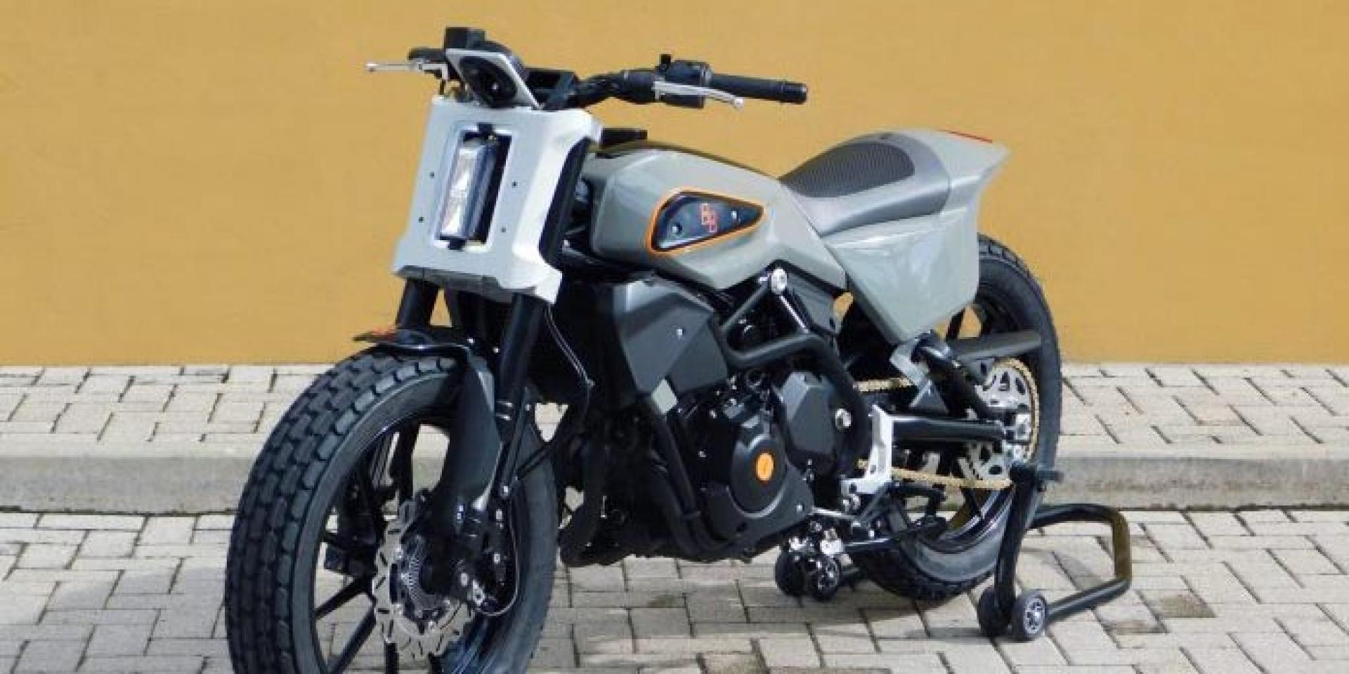 XR338!?這不是Harley-Davidson官方推出,而是由Benelli 302S修改而來的量產預備車