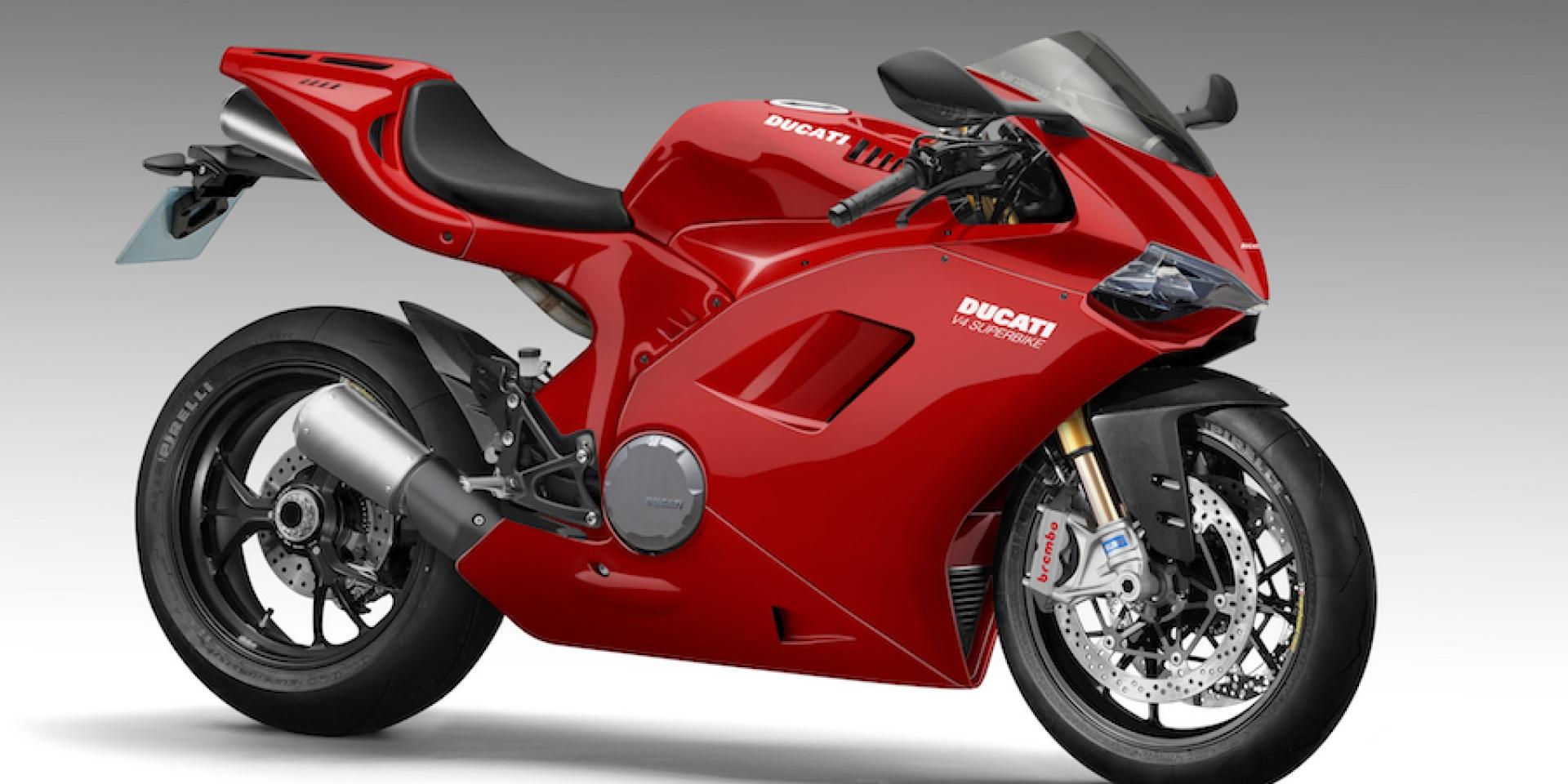 9月7日DUCATI市售V4擎正式公開。Desmosedici Stradalem