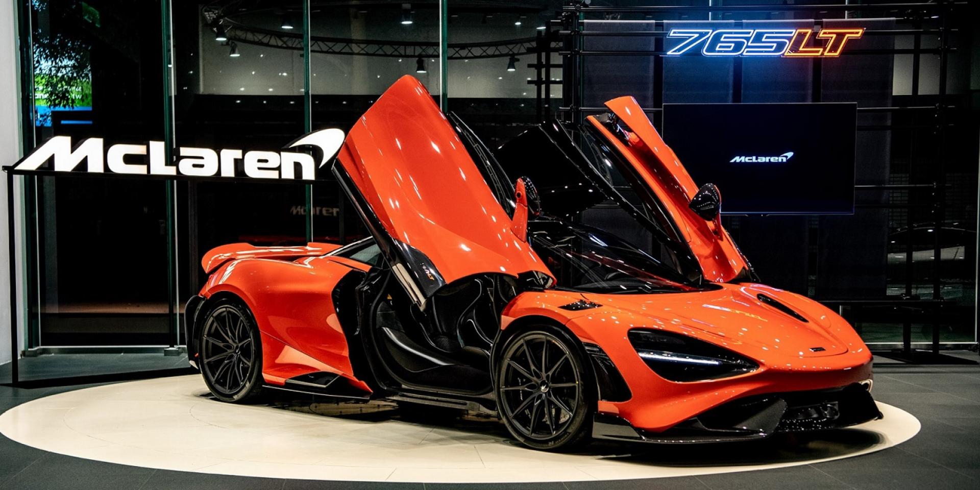 官方新聞稿。極致輕量乘載狂放動力 McLaren 765LT 限量抵台