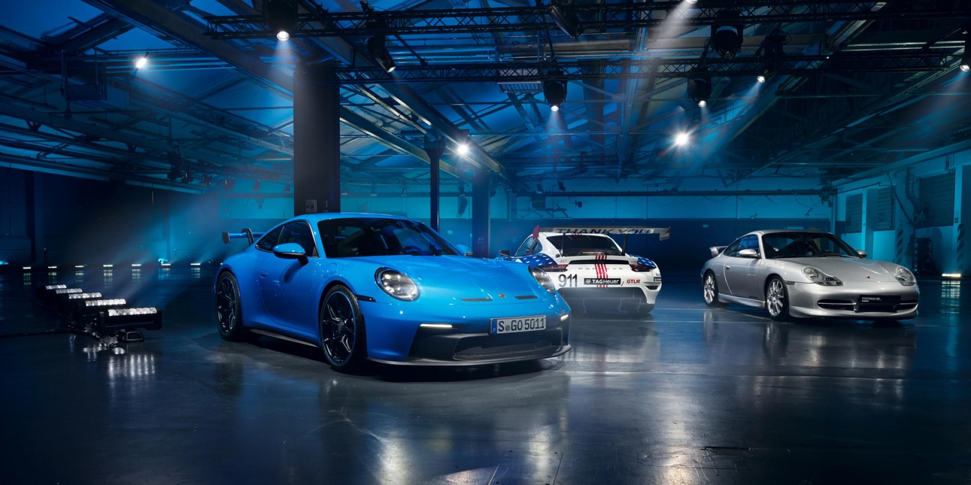 「手排」才是王道!逾7成北美買家都選擇手排版911 GT3!