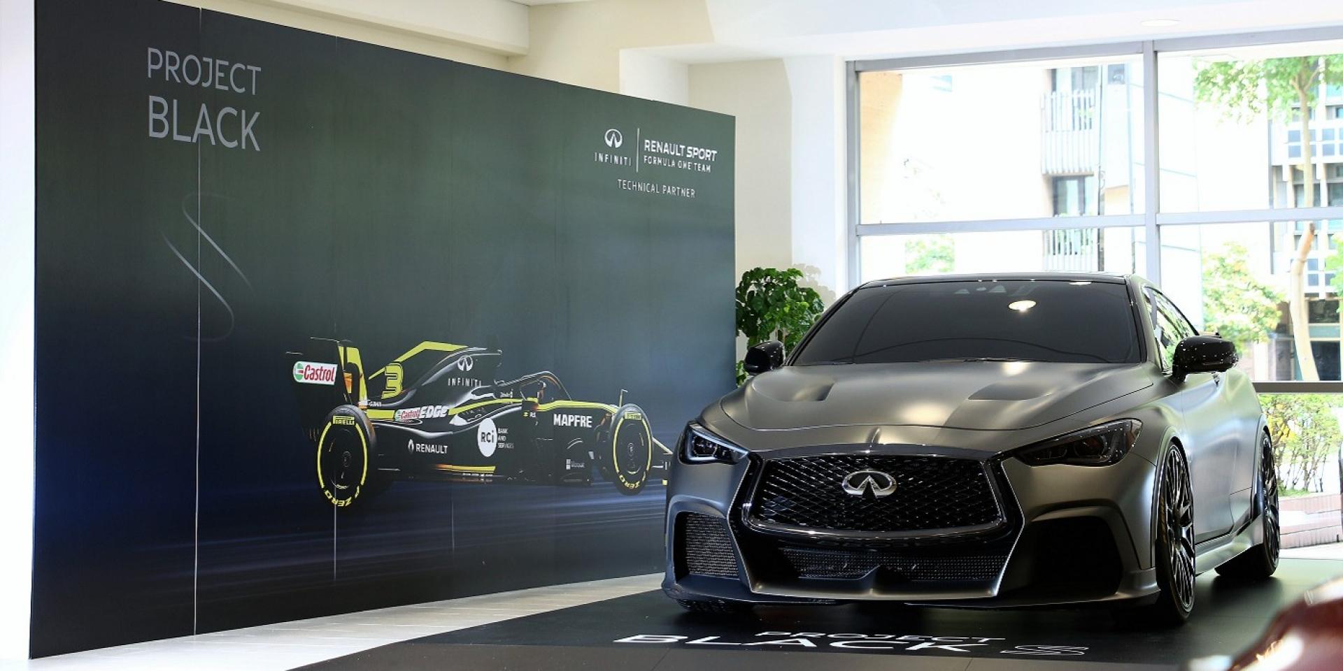 最強性能INFINITI Q60 PROJECT Black S Concept首度來台