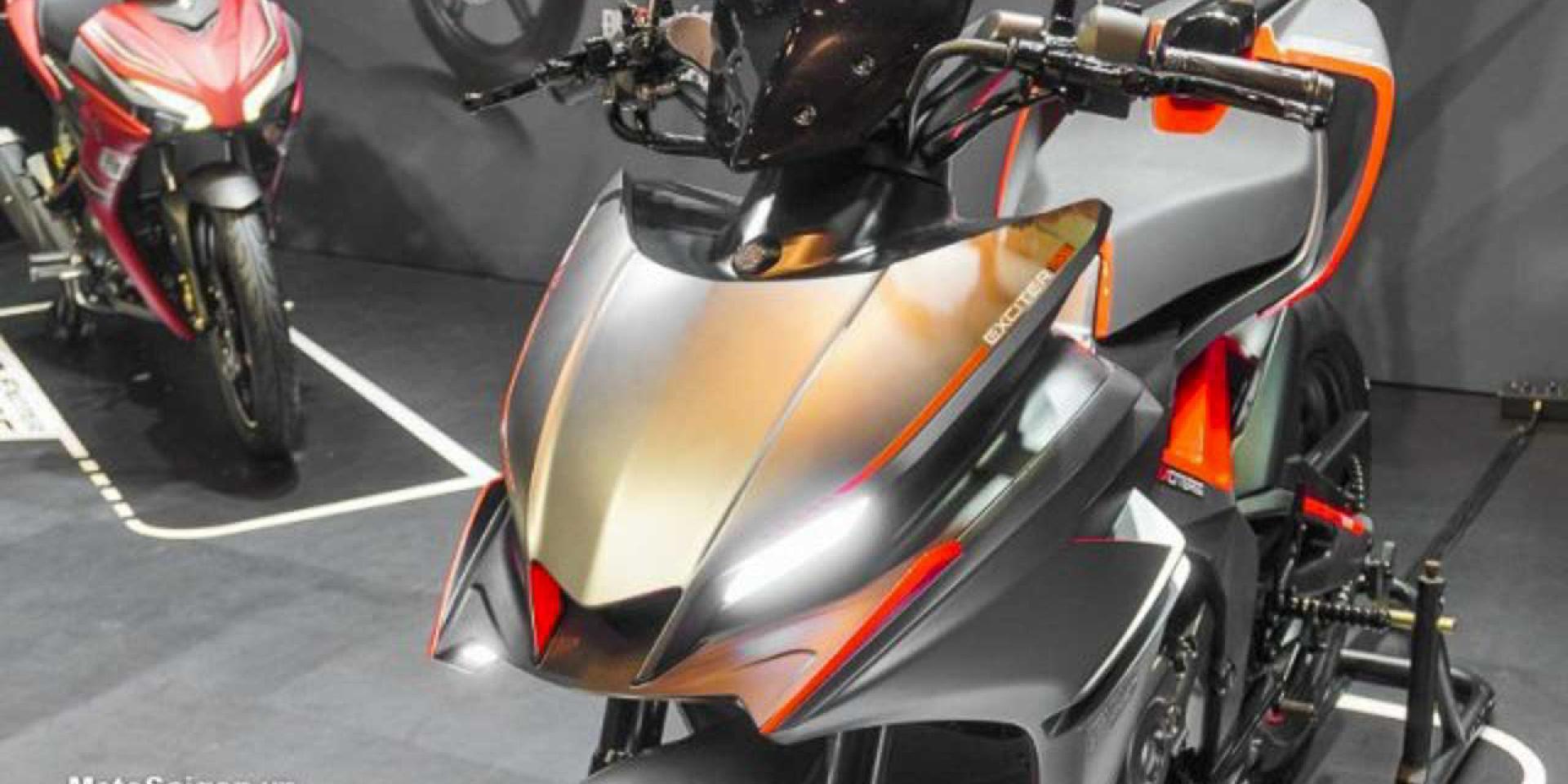 R-DNA注入、小翅膀上身。Yamaha F-155 Concept 超殺概念車
