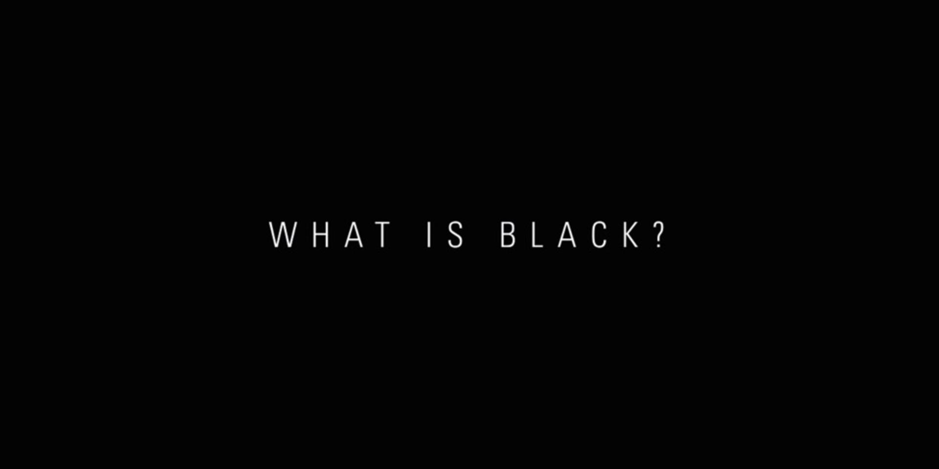 WHAT IS BLACK ? DUCATI新車款預告影片