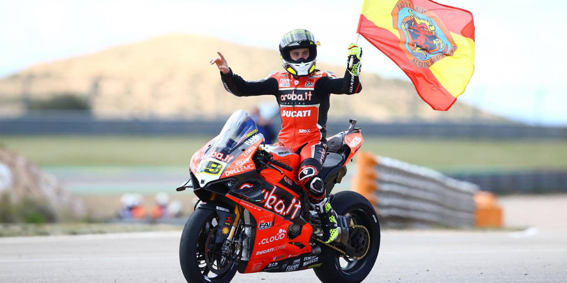 回鍋MotoGP? 捌弟:給我廠車其餘免談! Alvaro Bautista奪下WSBK開季九連勝