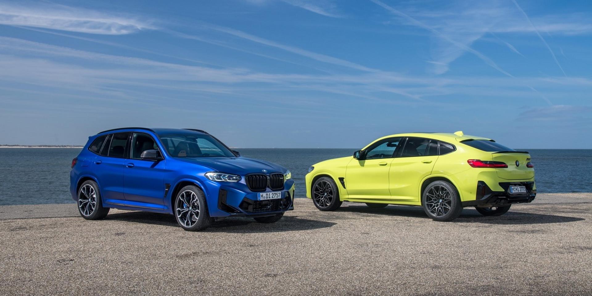 BMW X3 M、X4 M小改款,性能小幅再提升
