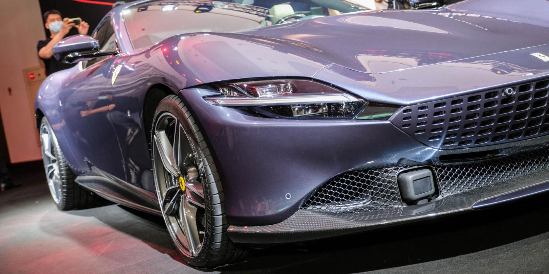 4人同享義式浪漫!Ferrari Roma 1,280萬在台上市