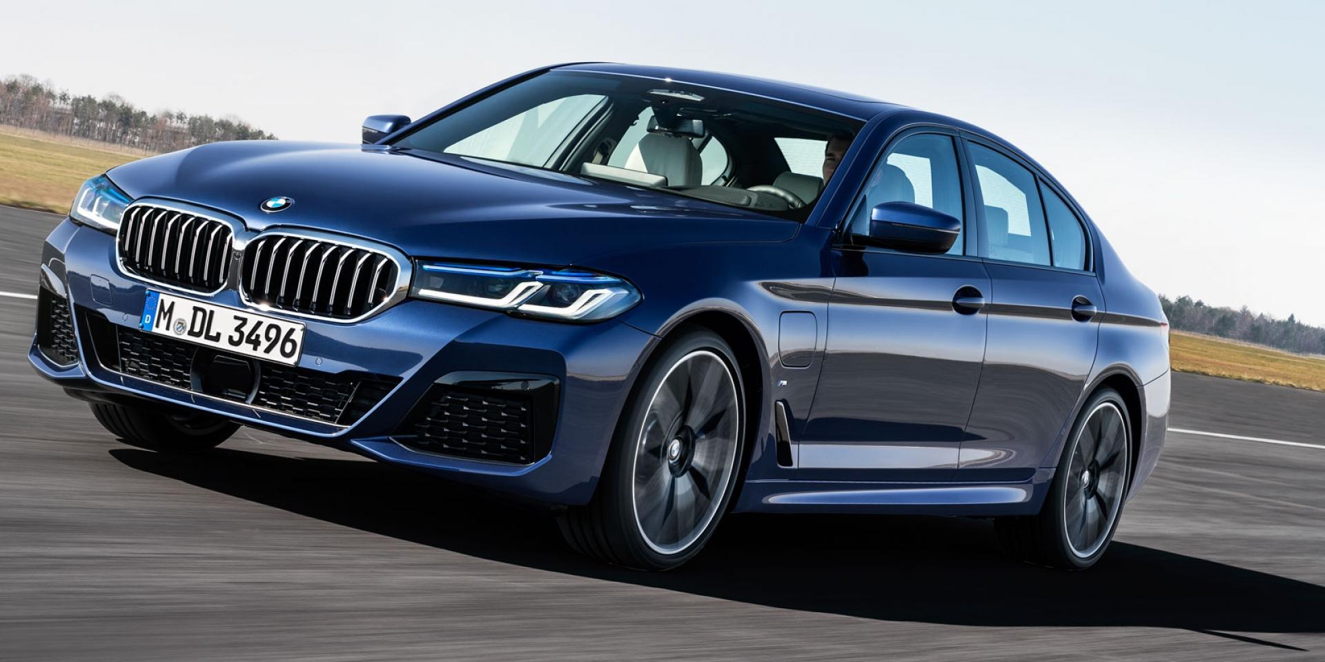 BMW 5系列中期改款亮相!台灣有望年底導入