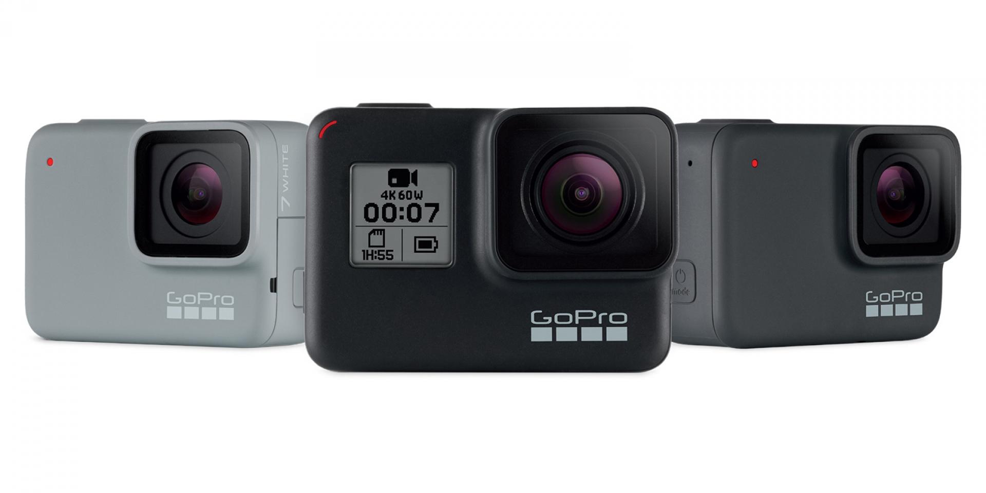 橫空出世的運動攝影新英雄!GoPro Hero 7 系列即刻登場