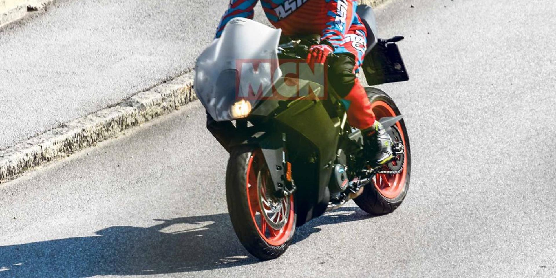 更加競技?新款KTM RC 390海外測試中