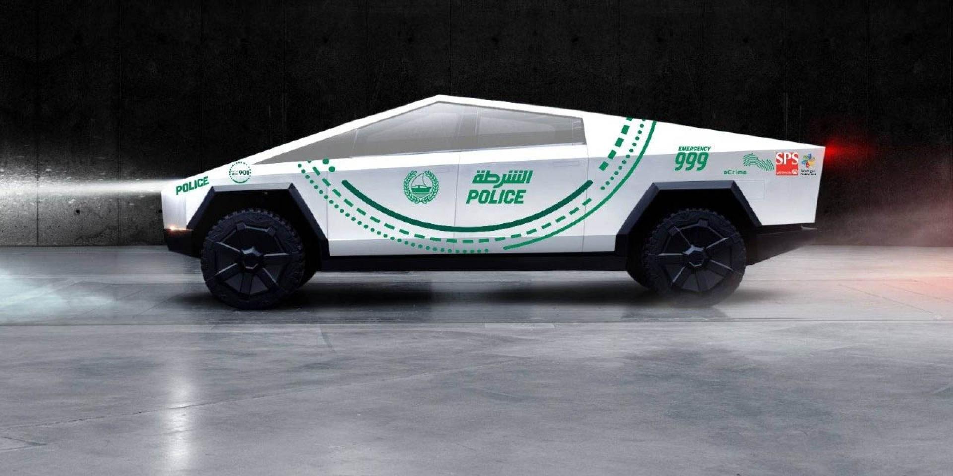 BMW表示我更厲害、杜拜警察也要買,Tesla Cybertruck發表後的網路趣聞