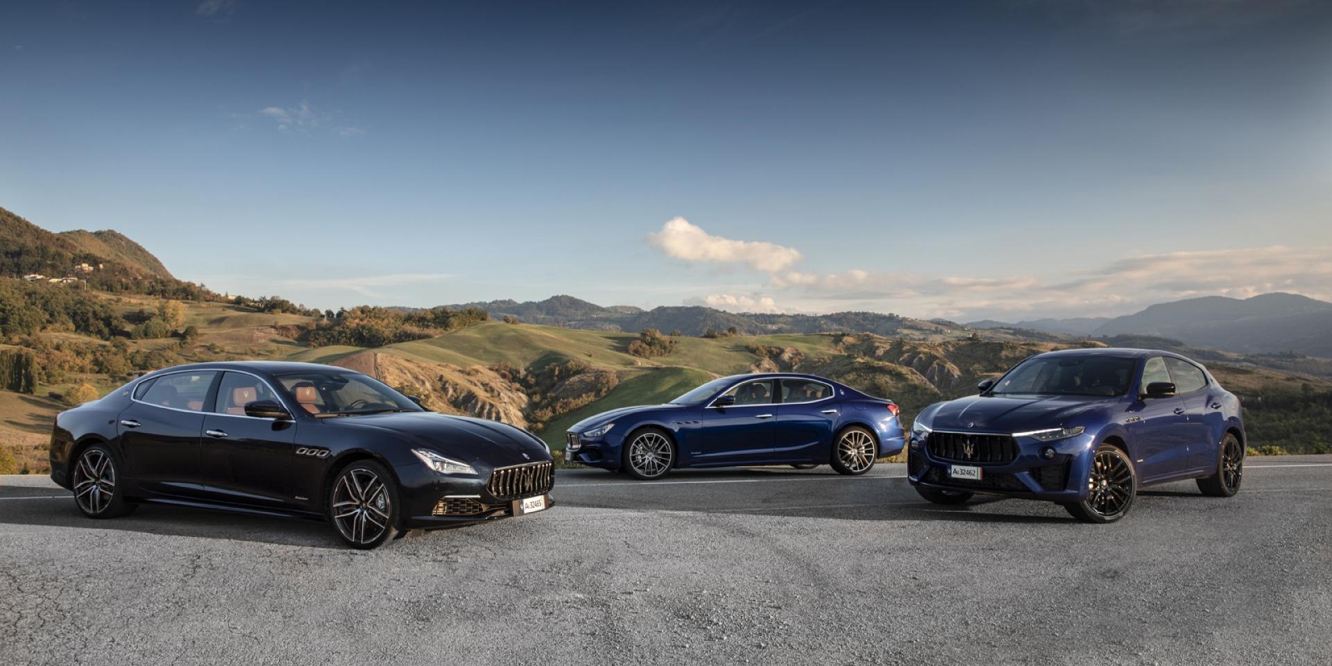 Maserati正21年式全車系,限時禮遇 最後席次!