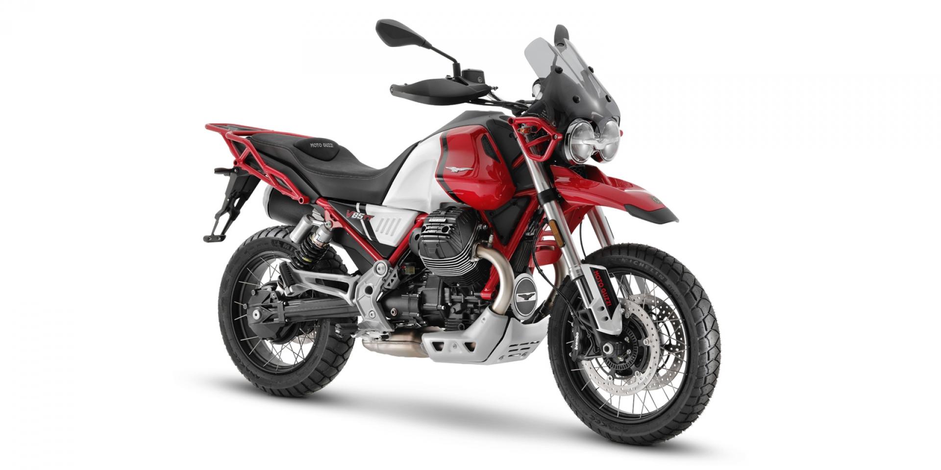 低轉扭力強化。2021 Moto Guzzi V85 TT 小改發表!