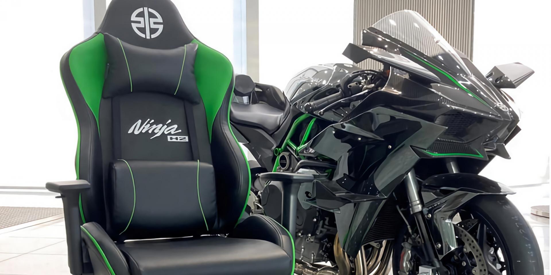買不起Ninja H2,那買張Ninja H2電競椅吧!