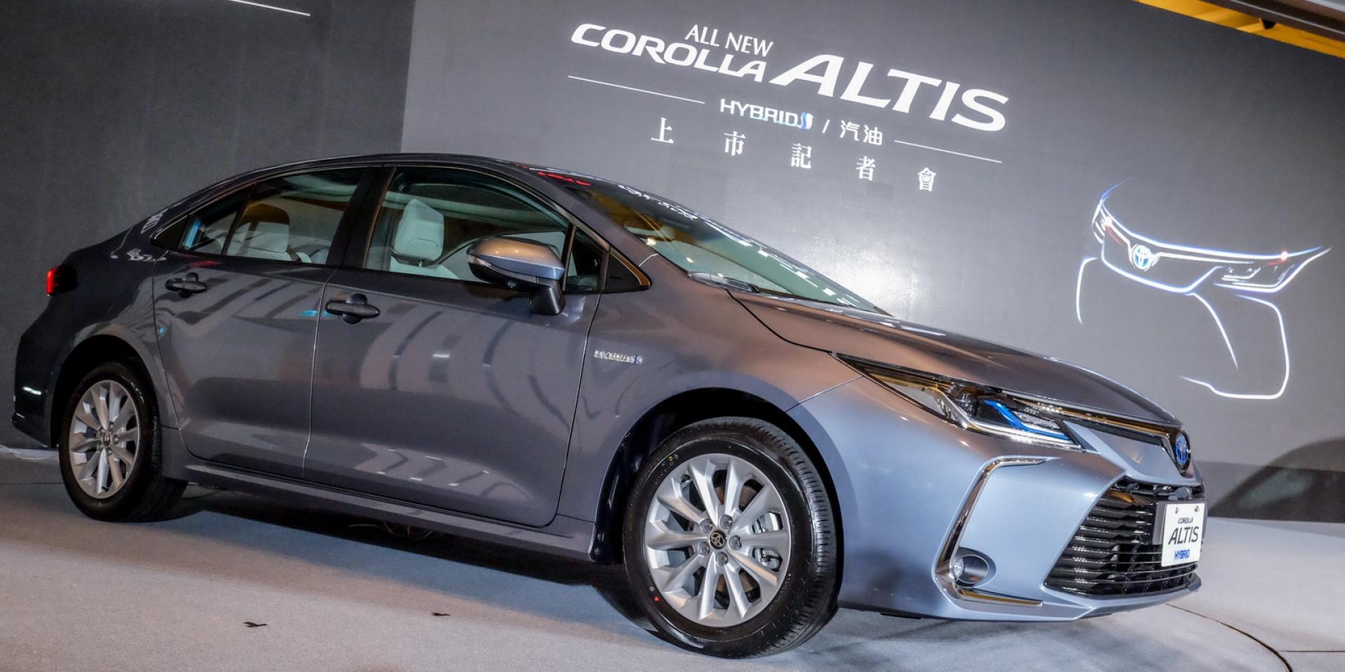 新ALTIS來勢洶洶,油電導入、安全配備滿載,TOYOTA ALTIS發表會