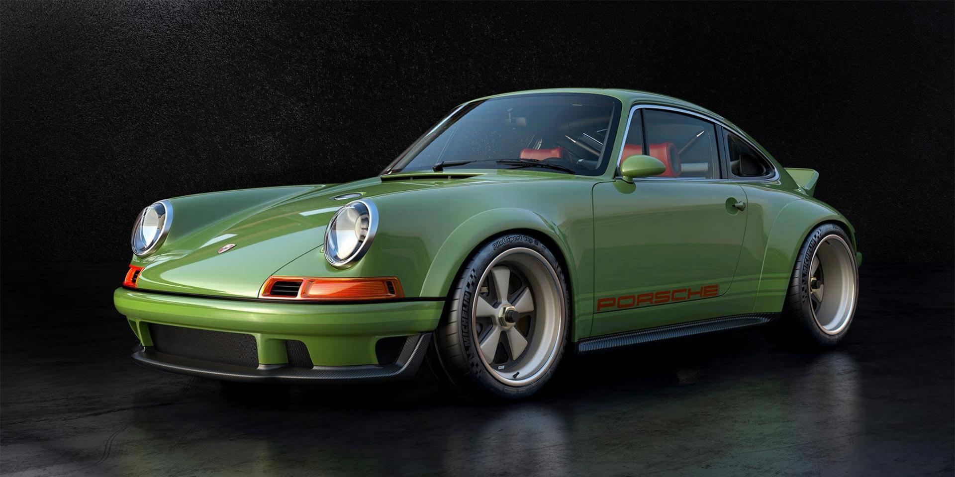 老車轉生,吟唱水平對臥最佳代表Singer Porsche 911