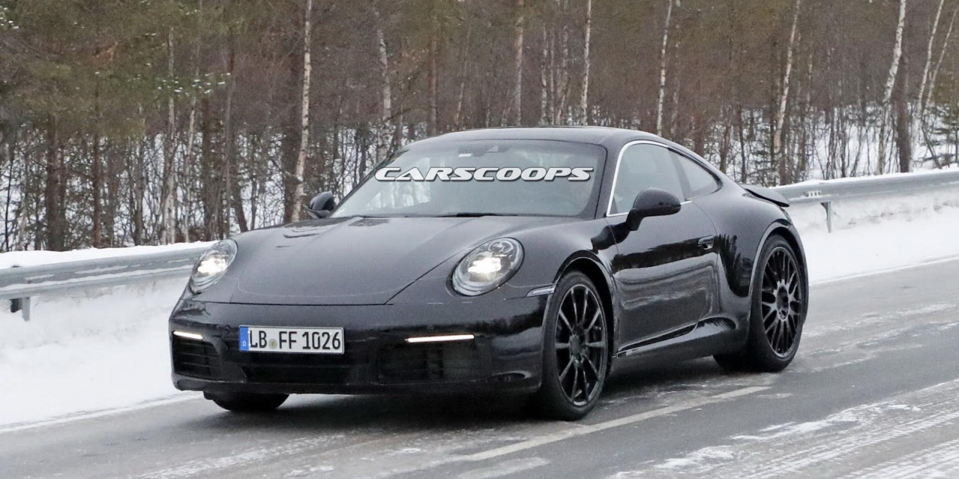 911再次轉型!2019 Porsche 911將會有輕度油電混合系統