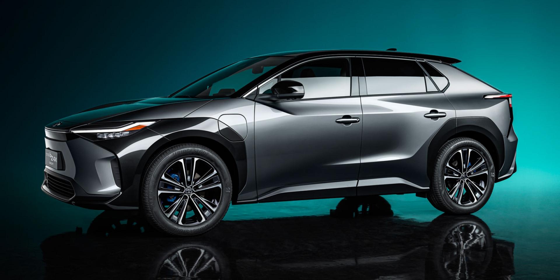 電動Toyota來了!Toyota bZ4X概念車擁有前衛外觀 內裝
