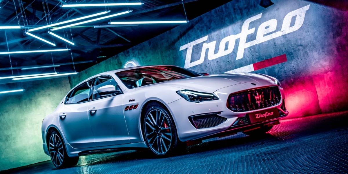 官方新聞稿。終極性能的完美詮釋 Maserati TROFEO全車系 重裝登場