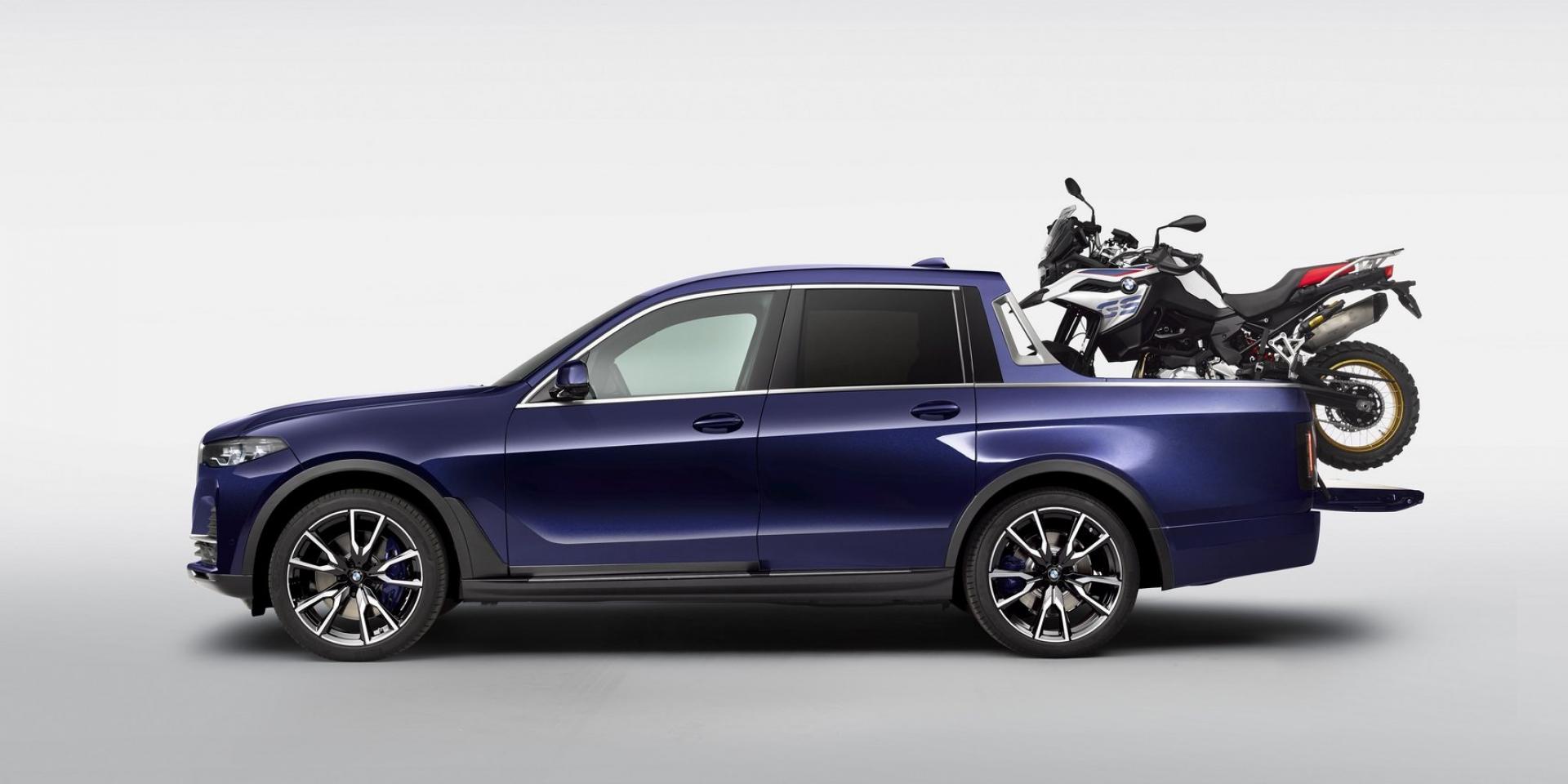 連BMW都有Pickup!全新X7變身大改造!