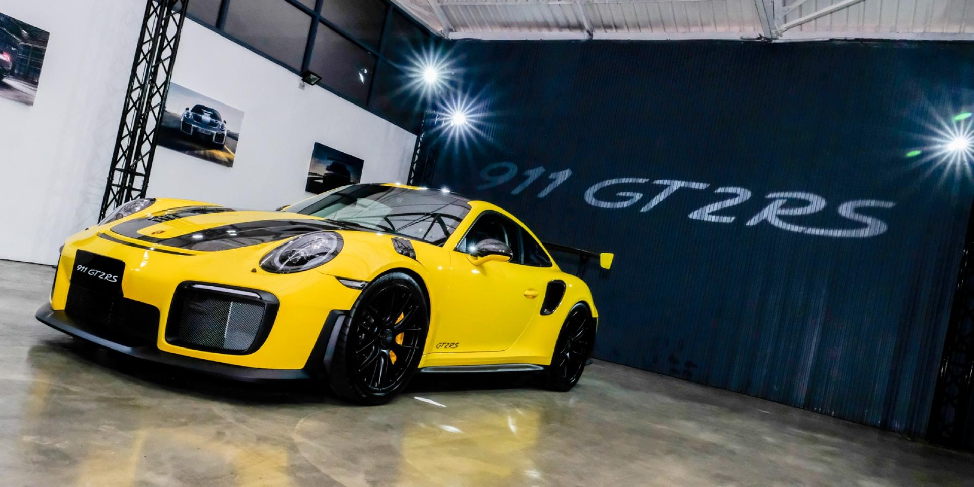史上最強911。911 GT2 RS 1,488萬台灣發表