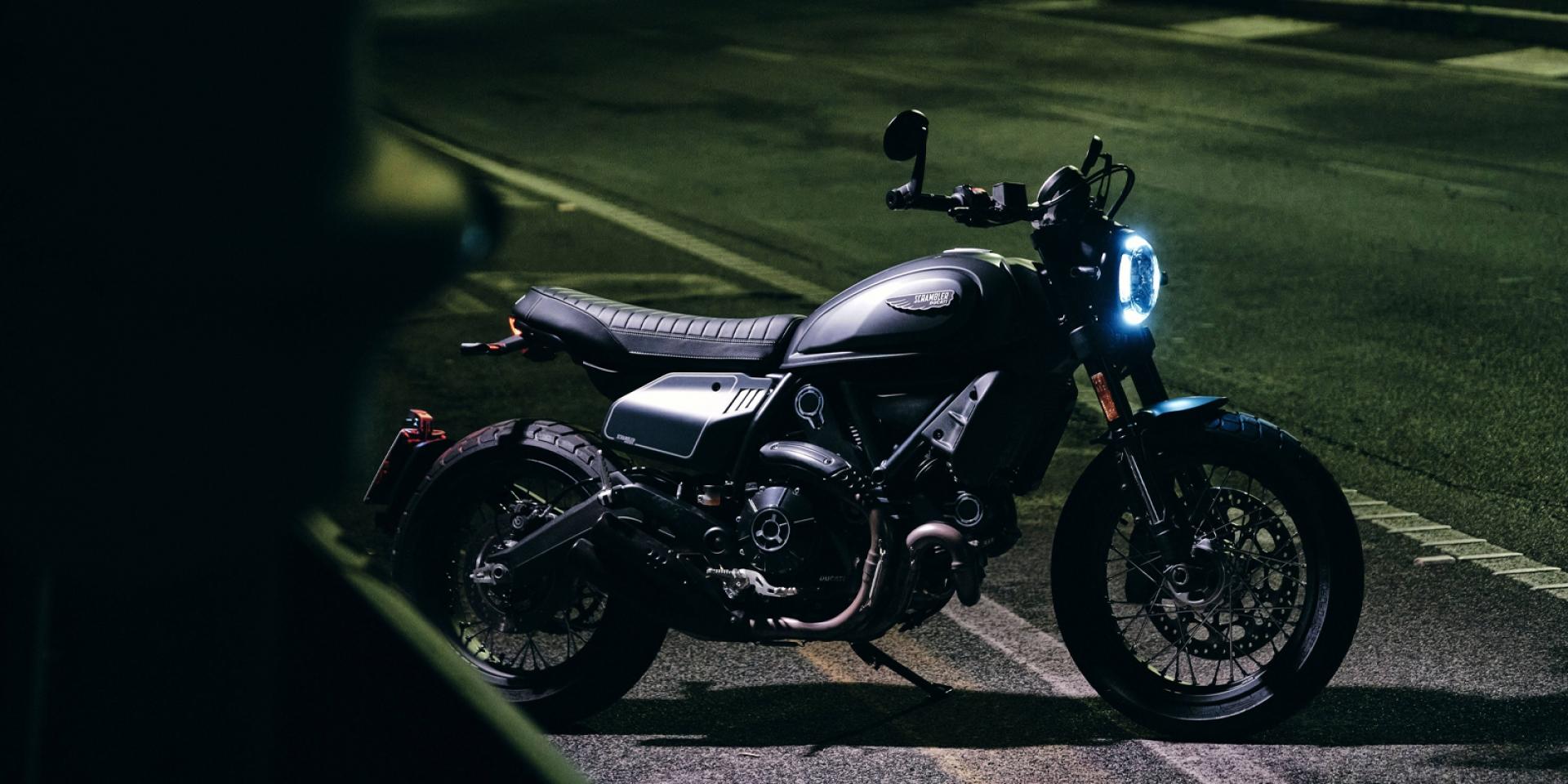 Flat Track風格低調黑!Ducati Scrambler Nightshift 新車發表
