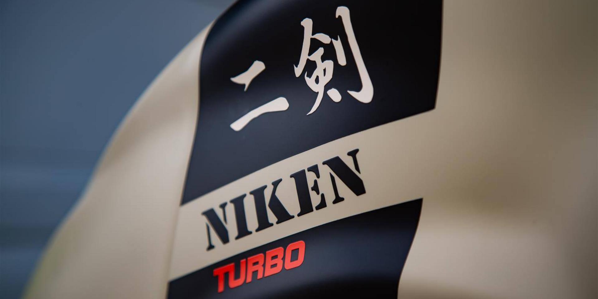 渦輪二劍出鞘。YAMAHA NIKEN Turbo by  Trooper Lu's Garage