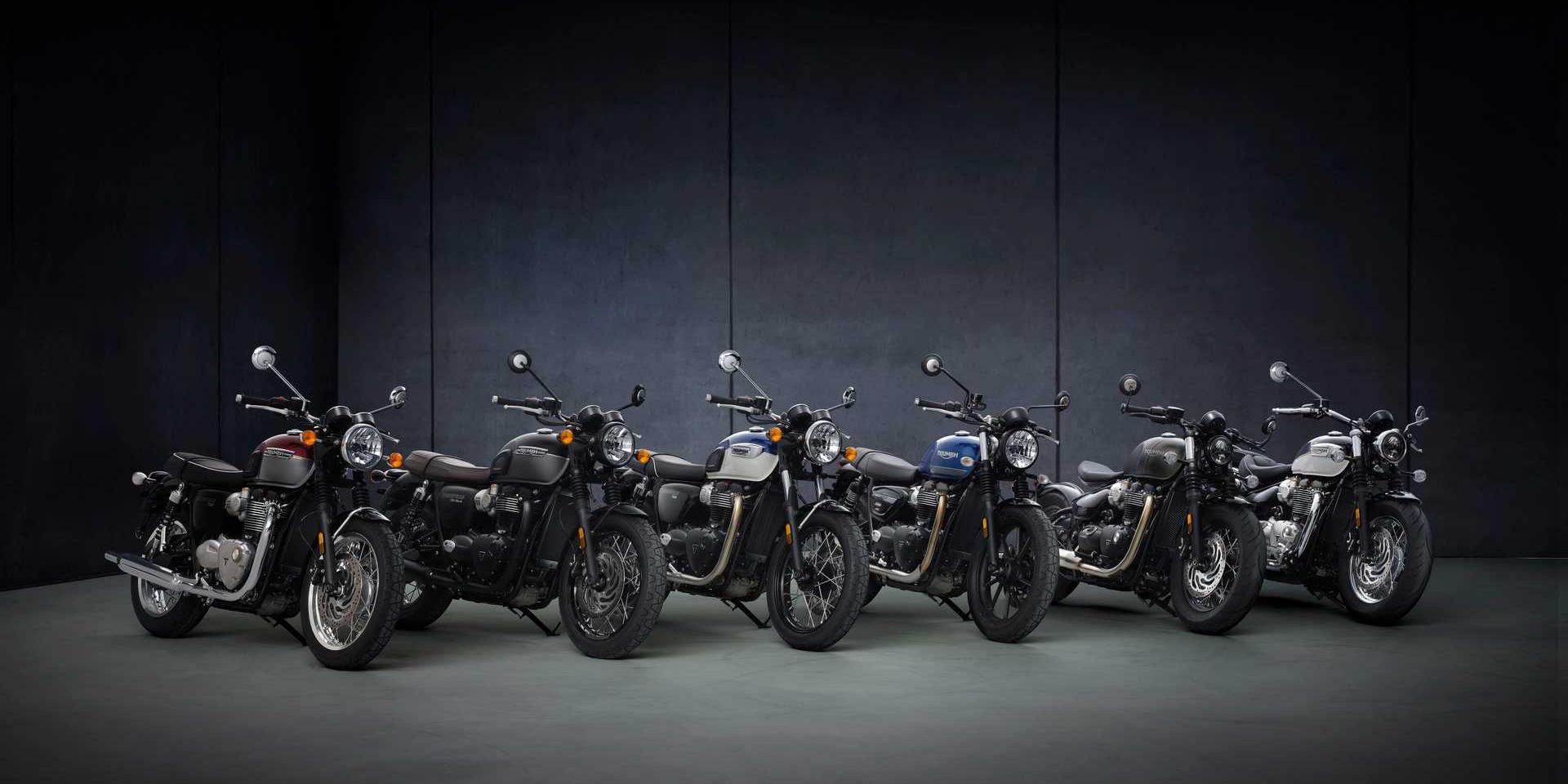 英倫紳士再進化 ! 2022 Triumph Bonneville系列更新發表