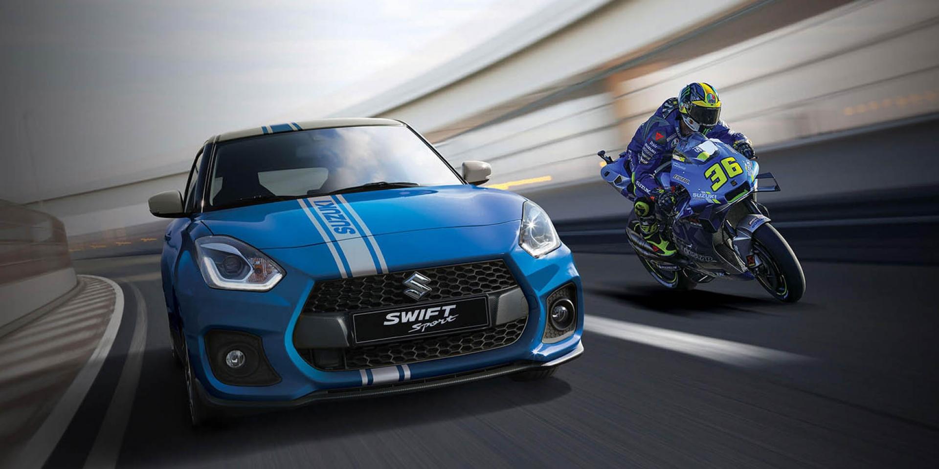這台SUZUKI Swift Sport限量7台!MotoGP冠軍特仕版義大利發售
