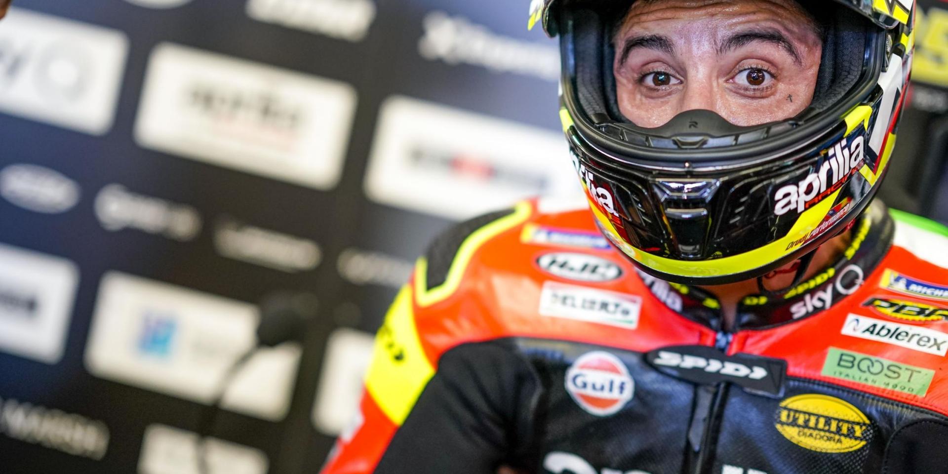 否極泰來?Andrea Iannone:德國Sachsenring賽道是驗收APRILIA上半年的好機會!